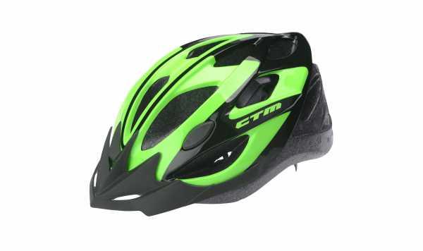 Fahrradhelm SLASH grün