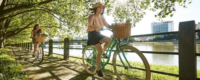 Retro-Bikes für Damen - Citybikes im Retro-Look