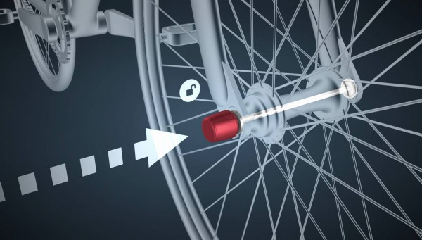ABUS Sicherung für Räder NutFix Axle-Set