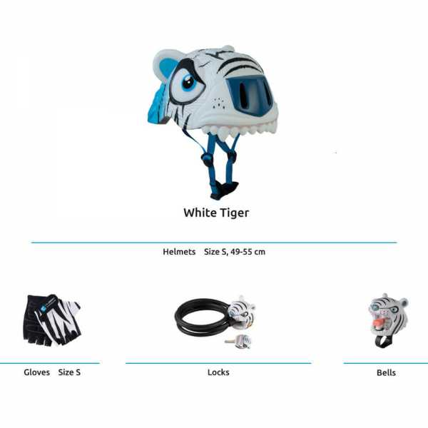 White Tiger Safety Set